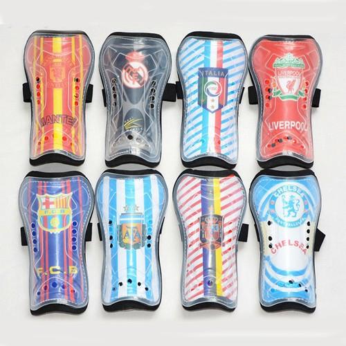 Nẹp bảo vệ ống đồng bóng đá logo các CLB nổi tiếng-1 cặp