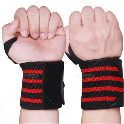 Đai quấn hổ trợ cổ tay tập gym PJ-1 cặp