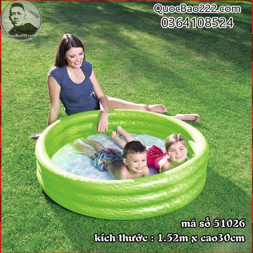 Bể Bơi Phao Tròn Cỡ Lớn kích thước 1.52m x 30cm Bestway 51026 - 7547250 , 16104177 , 15_16104177 , 187000 , Be-Boi-Phao-Tron-Co-Lon-kich-thuoc-1.52m-x-30cm-Bestway-51026-15_16104177 , sendo.vn , Bể Bơi Phao Tròn Cỡ Lớn kích thước 1.52m x 30cm Bestway 51026