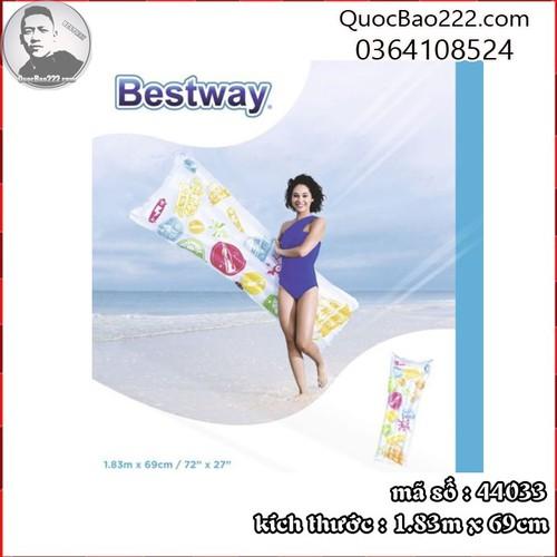 Tấm Nệm Bơm Hơi Mặt Nước 1.83m x 69cm - Bestway 44033