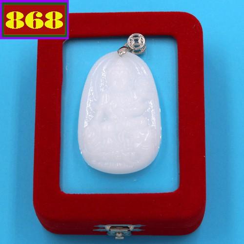 Mặt Phật Bồ tát Phổ hiền - thạch anh trắng 5cm - kèm hộp nhung - tuổi Thìn, Tỵ - 11249484 , 16110810 , 15_16110810 , 220000 , Mat-Phat-Bo-tat-Pho-hien-thach-anh-trang-5cm-kem-hop-nhung-tuoi-Thin-Ty-15_16110810 , sendo.vn , Mặt Phật Bồ tát Phổ hiền - thạch anh trắng 5cm - kèm hộp nhung - tuổi Thìn, Tỵ