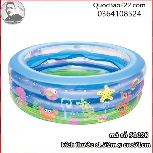 Bể Bơi Phao Tròn Lớn Cực Bền kích thước 1.52m x 51cm Bestway 51028 - 11246653 , 16104397 , 15_16104397 , 488000 , Be-Boi-Phao-Tron-Lon-Cuc-Ben-kich-thuoc-1.52m-x-51cm-Bestway-51028-15_16104397 , sendo.vn , Bể Bơi Phao Tròn Lớn Cực Bền kích thước 1.52m x 51cm Bestway 51028