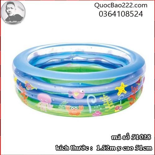 Bể Bơi Phao Tròn Lớn Cực Bền kích thước 1.52m x 51cm Bestway 51028 - 11246586 , 16104302 , 15_16104302 , 488000 , Be-Boi-Phao-Tron-Lon-Cuc-Ben-kich-thuoc-1.52m-x-51cm-Bestway-51028-15_16104302 , sendo.vn , Bể Bơi Phao Tròn Lớn Cực Bền kích thước 1.52m x 51cm Bestway 51028