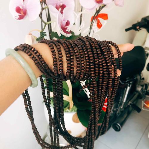 Set 10 chuỗi vòng đeo tay hạt gỗ 5li