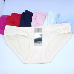 Bộ 10 quần cotton trơn mịn