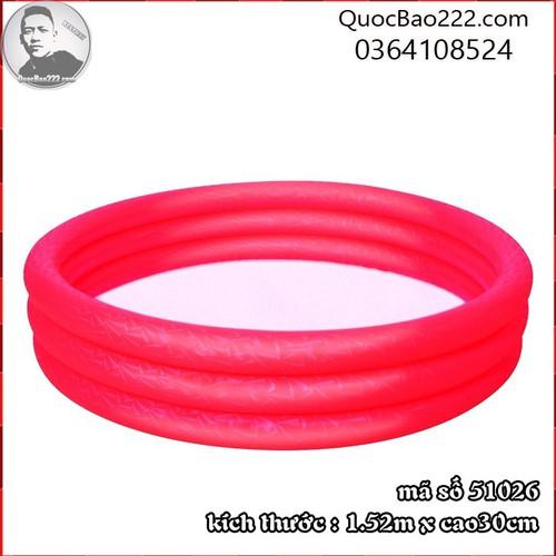Bể Bơi Phao Tròn Cỡ Lớn kích thước 1.52m x 30cm Bestway 51026 - 7547178 , 16104077 , 15_16104077 , 187000 , Be-Boi-Phao-Tron-Co-Lon-kich-thuoc-1.52m-x-30cm-Bestway-51026-15_16104077 , sendo.vn , Bể Bơi Phao Tròn Cỡ Lớn kích thước 1.52m x 30cm Bestway 51026