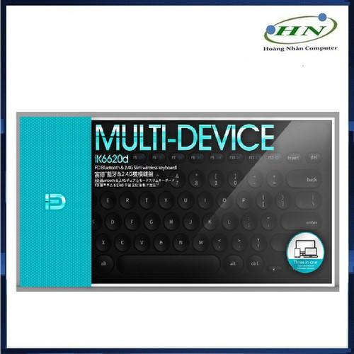 Phím Bluetooth + Wireless FD ik6620d - 11249554 , 16110911 , 15_16110911 , 338000 , Phim-Bluetooth-Wireless-FD-ik6620d-15_16110911 , sendo.vn , Phím Bluetooth + Wireless FD ik6620d
