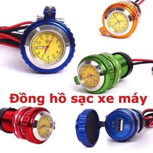 Đồng hồ gắng xe máy có cổng usb - 11248975 , 16109808 , 15_16109808 , 159000 , Dong-ho-gang-xe-may-co-cong-usb-15_16109808 , sendo.vn , Đồng hồ gắng xe máy có cổng usb