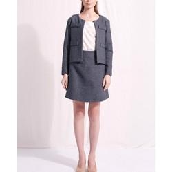 Áo khoác nữ The Cosmo Dedra jacket màu tím TC2004028R1VI