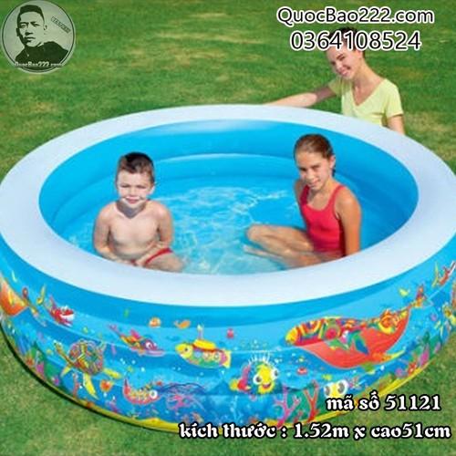 Bể Bơi Phao Tròn Lớn Cực Bền kích thước 1.52m x 51cm Bestway 51121 - 4523776 , 16117370 , 15_16117370 , 547000 , Be-Boi-Phao-Tron-Lon-Cuc-Ben-kich-thuoc-1.52m-x-51cm-Bestway-51121-15_16117370 , sendo.vn , Bể Bơi Phao Tròn Lớn Cực Bền kích thước 1.52m x 51cm Bestway 51121