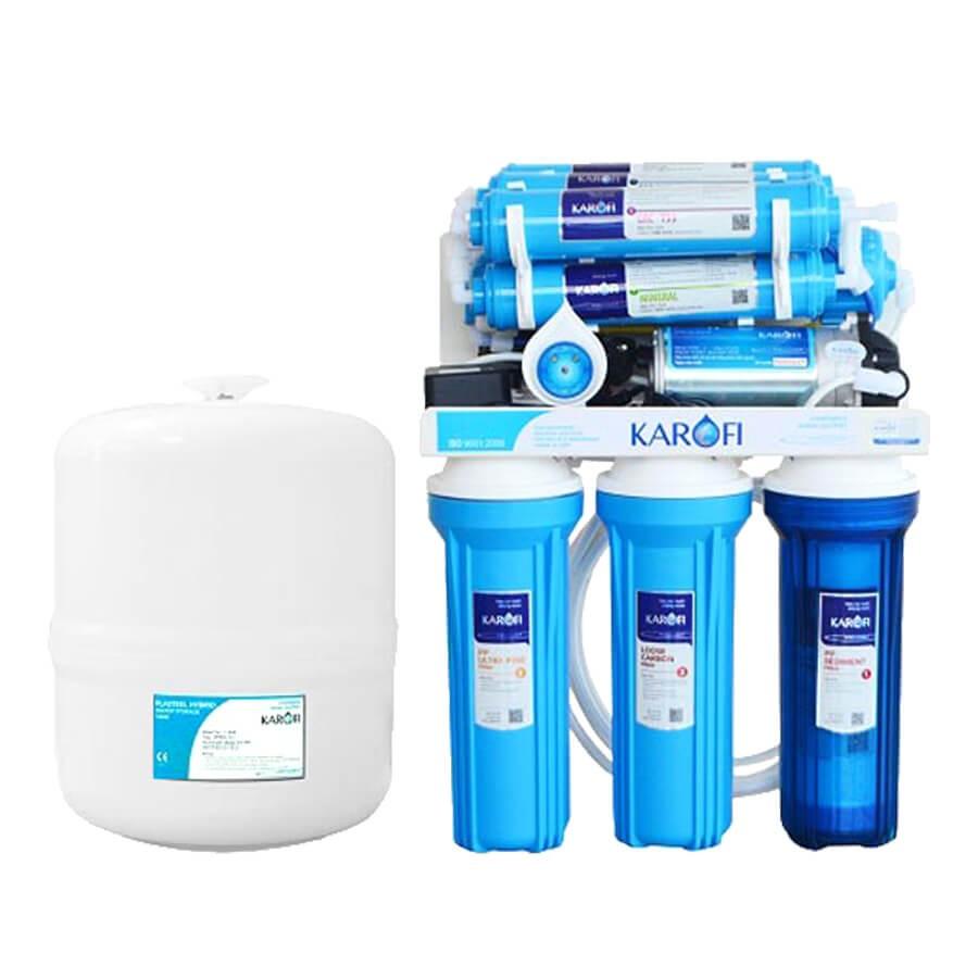 Máy lọc nước Karofi KT-KS80- 8 Cấp Lọc- Không tủ - KT-KS80