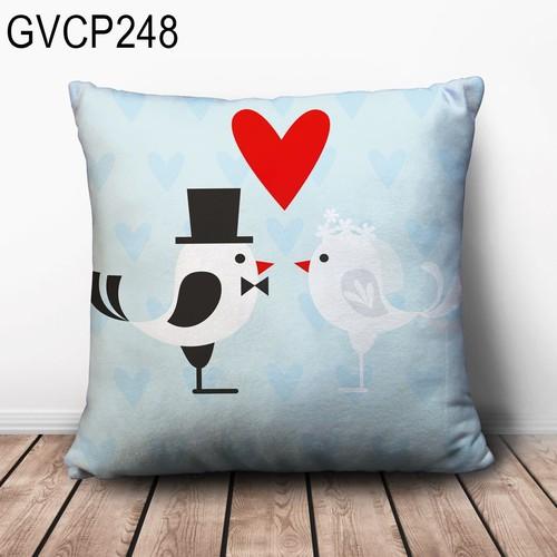 Gối vuông tình yêu GVHT267