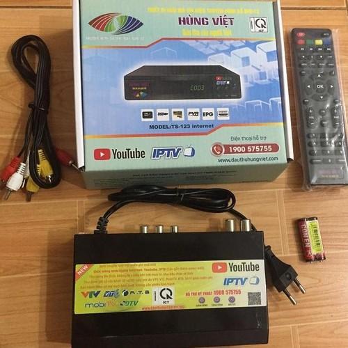 Đầu Thu Kĩ Thuật Số Mặt Đất DVB T2 Hùng Việt TS123