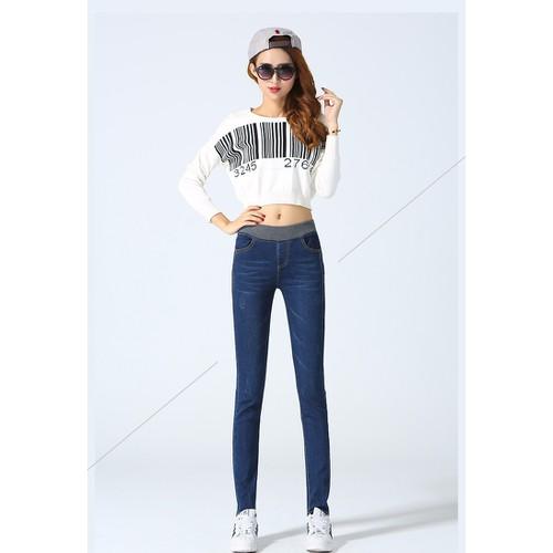 quần jean cạp chun cao cấp