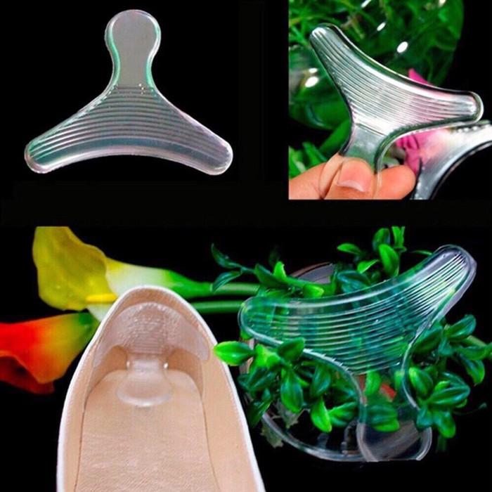 Bộ 10 miếng lót giày silicon chống rộng chống đau chân 3