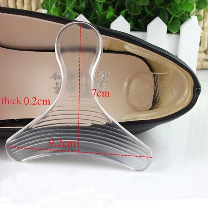 Bộ 10 miếng lót giày silicon chống rộng chống đau chân 4