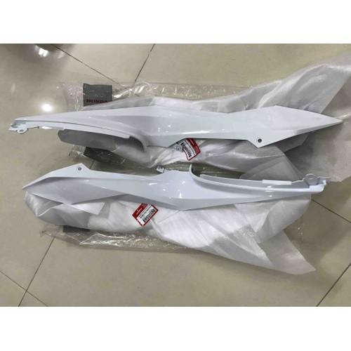 cặp ốp sườn sonic màu trắng bóng chính hãng honda nk indo - 7550049 , 16121070 , 15_16121070 , 1580000 , cap-op-suon-sonic-mau-trang-bong-chinh-hang-honda-nk-indo-15_16121070 , sendo.vn , cặp ốp sườn sonic màu trắng bóng chính hãng honda nk indo