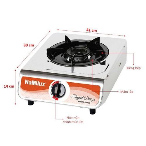 Bếp ga đơn mặt lốc Namilux NA300ASM