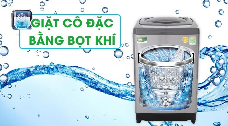 Công nghệ giặt cô đặc bằng bọt khí - Máy giặt Toshiba 10 Kg AW-H1100GV SM