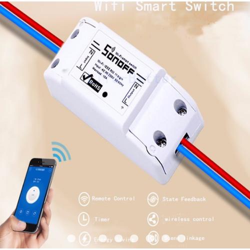 Công Tắc Bật Tắt Thiết Bị Điện Qua Wifi SONOFF