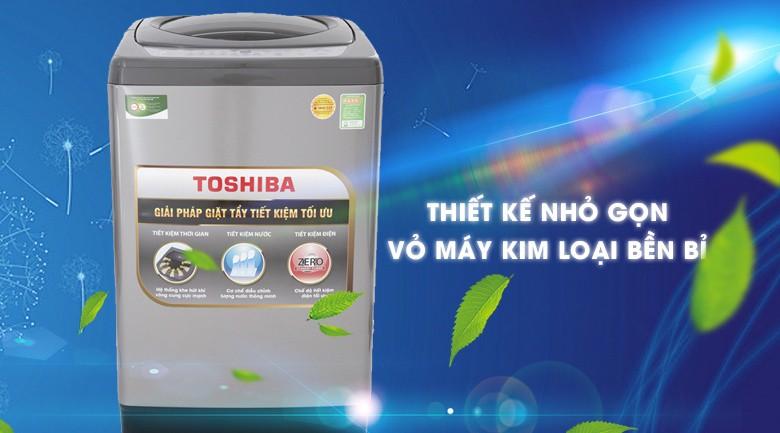 Mâm giặt Hybrid Powerful - Máy giặt Toshiba 10 Kg AW-H1100GV SM
