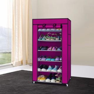 Tủ-Tủ kê giày dép-Tủ giày dép siêu gọn nhẹ 7 tầng 6 ngăn - Tủ kê giày dép Tủ giày dép thumbnail
