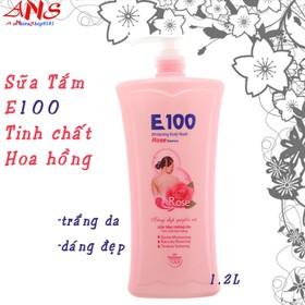 Sữa Tắm - E100 hoa hong 1.2L