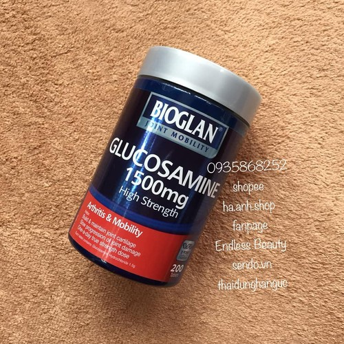 Bioglan True Strength Glucosamine 1500mg