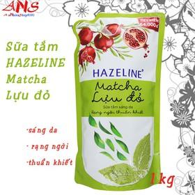 Sữa tắm - hazeline matcha luu do 1kg