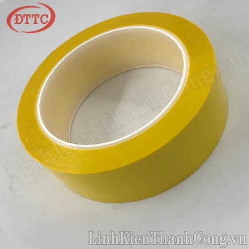 Băng dính nhiệt vàng 32.5mm x 66m