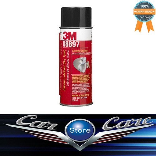 Silicone Bôi Trơn Phục Hồi Cao Su 3M™ Silicone Lubricant 241g