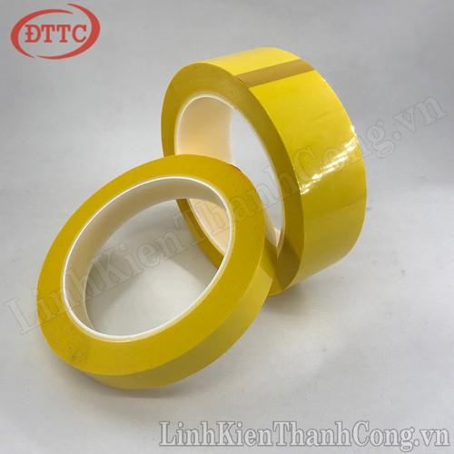 Băng dính nhiệt vàng 27mm x 66m