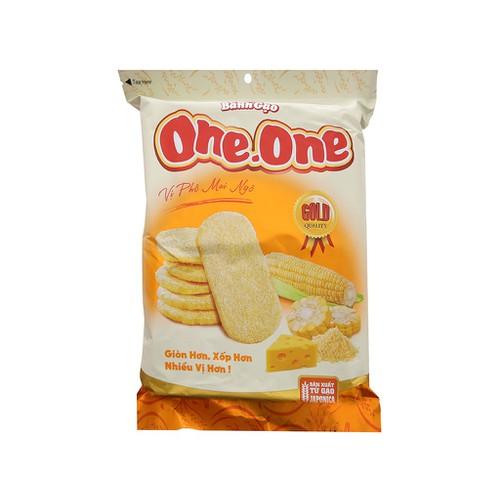 Bánh gạo ngọt one one vị phô mai và bắp 118g