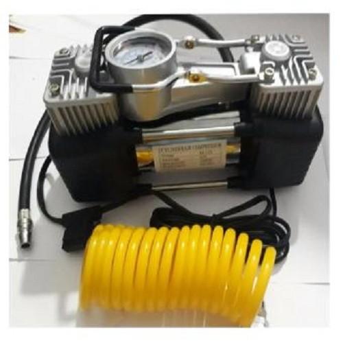 Bơm lốp mini 12v dự phòng tiện ích cho xe hơi