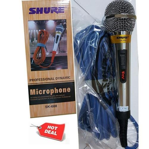 mic dây karaoke ktv 688