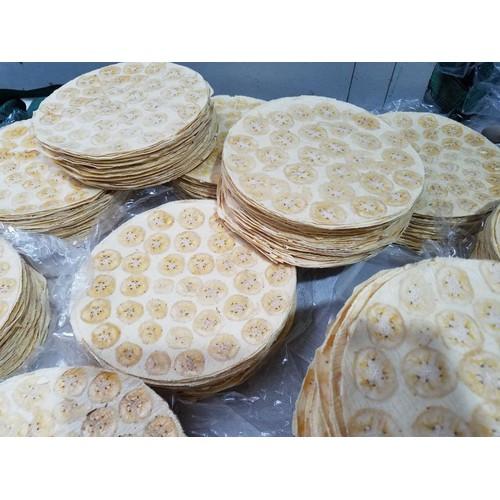 Bánh phồng chuối bến tre - 50 bánh -đặc sản bến tre -tặng 10 cái bánh