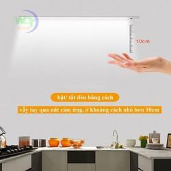Đèn cảm ứng vẫy tay lắp tủ bếp bóng led 11W dài 60cm ánh sáng trắng