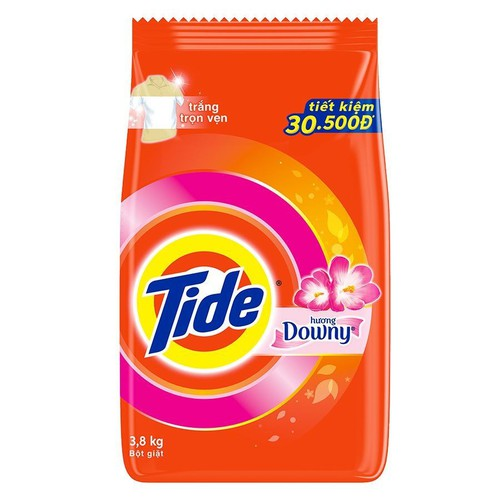 Bột giặt Tide Downy 3.8kg tặng thêm 1.2kg - 4681305 , 16138385 , 15_16138385 , 150700 , Bot-giat-Tide-Downy-3.8kg-tang-them-1.2kg-15_16138385 , sendo.vn , Bột giặt Tide Downy 3.8kg tặng thêm 1.2kg