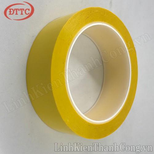 Băng dính nhiệt vàng 35mm x 66m