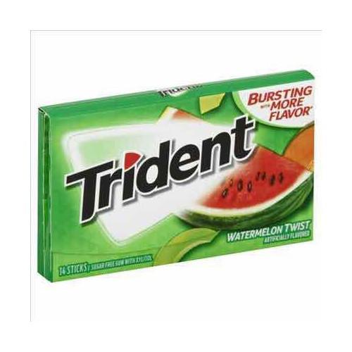 Kẹo Singum Trident Dưa Hấu 14 viên