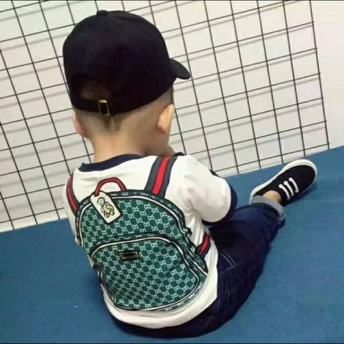 Áo thun 3D in hình balo cho bé 8-18 kg