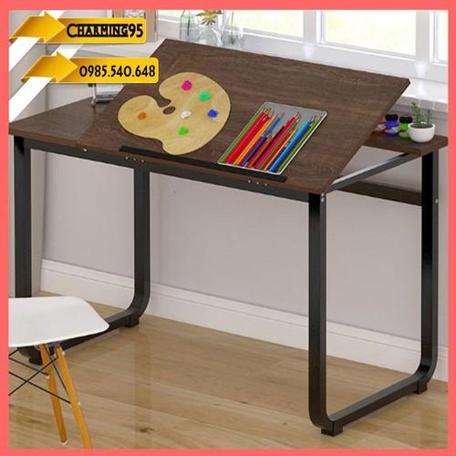Bàn làm việc có mặt nghiêng - bàn vẽ thết kế - bàn vẽ cao cấp - bàn gỗ cao cấp - bàn vẽ cao cấp - bàn mặt nghiêng cao cấp - bàn gỗ đa năng - bàn làm việc - bàn học - bàn vẽ - REo223 Bàn vẽ thiết kế