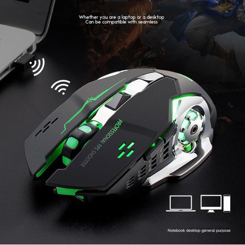 Chuột không dây chuyên game Chuột Bluetooth chuyên game pin sạc Free Wolf X8 Led 7 màu - 11075178 , 16143514 , 15_16143514 , 149000 , Chuot-khong-day-chuyen-game-Chuot-Bluetooth-chuyen-game-pin-sac-Free-Wolf-X8-Led-7-mau-15_16143514 , sendo.vn , Chuột không dây chuyên game Chuột Bluetooth chuyên game pin sạc Free Wolf X8 Led 7 màu