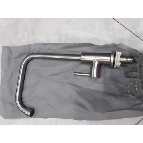 Vòi Rửa Lạnh Inox 304 Vuông