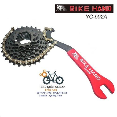 Dụng cụ tháo líp xe đạp kèm cờ lê 15 16 Bike Hand YC-502A