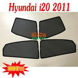 Rèm Che Nắng Kính Ô Tô Theo Xe - Hyundai i20 2011