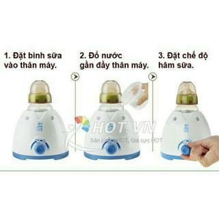 Máy hâm sữa hâm cháo cho bé - máy thumbnail