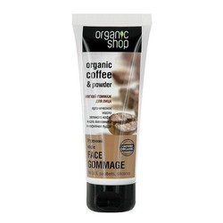 Tẩy da chết mặt Organic Shop Coffe 75ml
