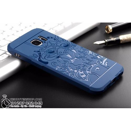 Samsung Galaxy S7 Ốp lưng chống sốc hoa văn