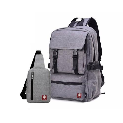 Combo ba lô thời trang hr112 và túi đeo chéo haras hr147 - chính hãng phân phối